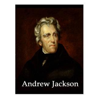 Cartão Postal Andrew_Jackson pelo público Sully com antiqua do