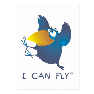 Cartão Postal AnimArArA pode voar