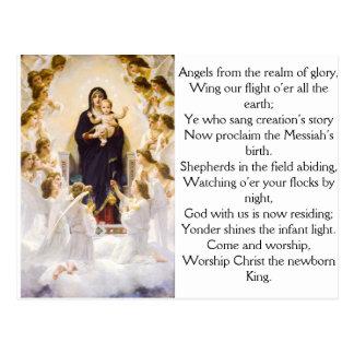 Cartão Postal Anjos do reino da glória