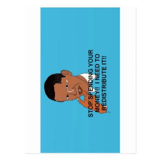 Cartão Postal Anti Obama 2012 eleições presidenciais