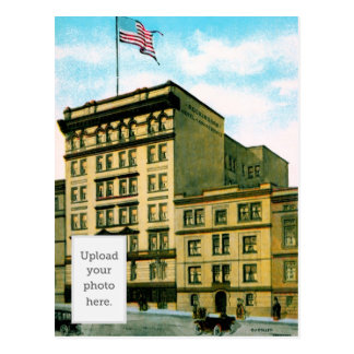 Cartão Postal Apartamentos do hotel de Rockingham