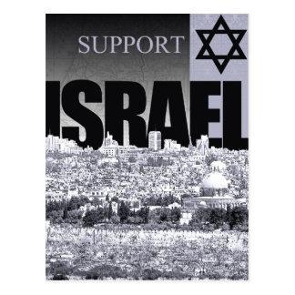 Cartão Postal Apoio Israel