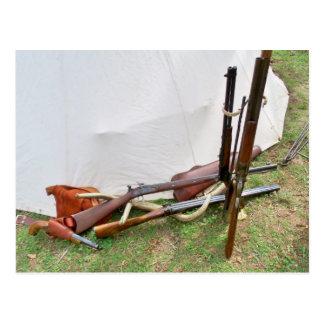 Cartão Postal Armas de fogo antigas