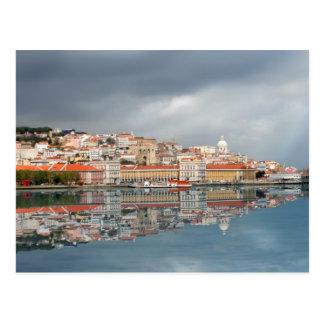 Cartão Postal Arquitectura da cidade cénico de Lisboa, Portugal