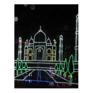 Cartão Postal Arquitetura de TajMahal Taj Mahal Mughal