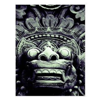 Cartão Postal Arte antiga R real brilhante contínuo da forma do
