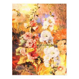 Cartão Postal Arte do jardim do vintage - Fowler, Daniel