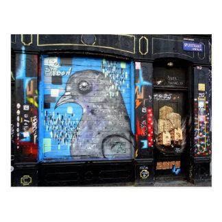 Cartão Postal Arte Nr da rua dos grafites de Amsterdão. 3