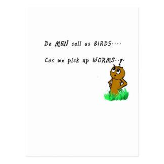 Cartão Postal artigo engraçado da novidade dos desenhos animados