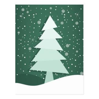 Cartão Postal Árvore comemorativo
