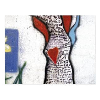 Cartão Postal Árvore do poema de Wordsworth
