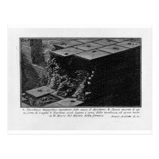 Cartão Postal As antiguidade romanas, T. 1, placa VIII. Aurelian