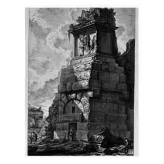 Cartão Postal As antiguidade romanas, T. 2, placa XXXIX