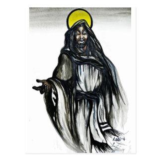 Cartão Postal As messias pretas