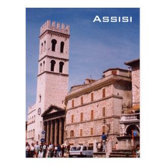 Cartão Postal Assisi