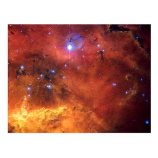 Cartão Postal Astronomia de espaço da NASA da nebulosa NGC 2647