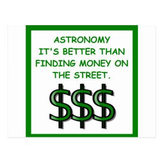 Cartão Postal astrónomo