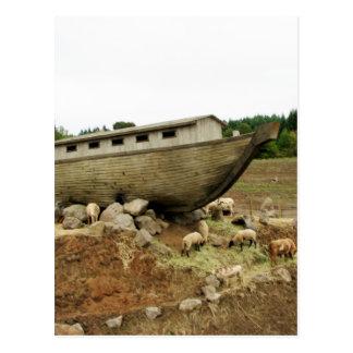 Cartão Postal Aterragem de Noahs