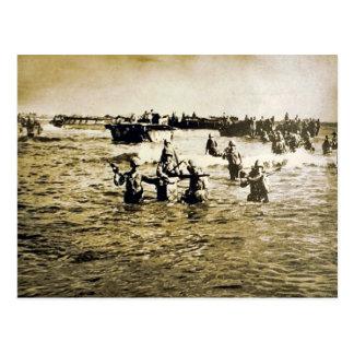Cartão Postal Aterragens de Normandy