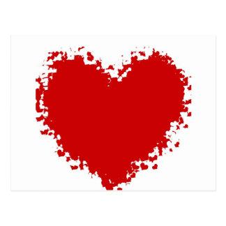 Cartão Postal Atração do coração