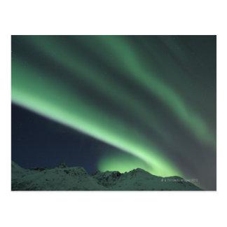 Cartão Postal Aurora boreal 2