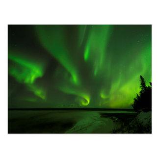 Cartão Postal Aurora dispersada