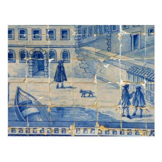 Cartão Postal Azulejo