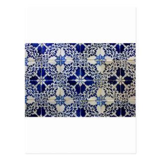 Cartão Postal Azulejos, Portuguese Tiles
