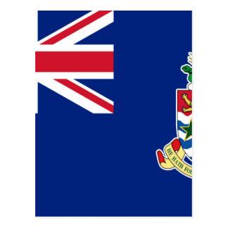Cartão Postal Baixo custo! Bandeira de Cayman Islands