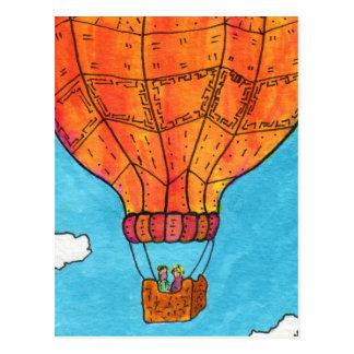Cartão Postal Ballooning