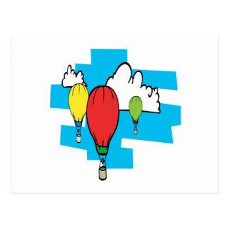 Cartão Postal Ballooning 3