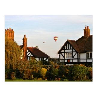 Cartão Postal Ballooning sobre Wingrave