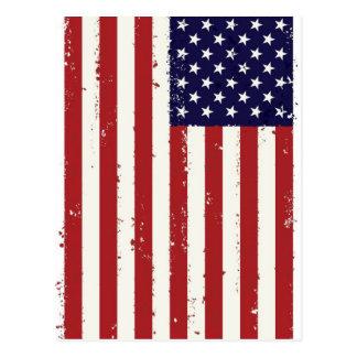 Cartão Postal Bandeira americana, USA/US