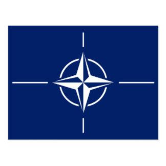 Cartão Postal Bandeira da OTAN