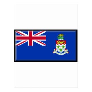 Cartão Postal Bandeira de Cayman Islands