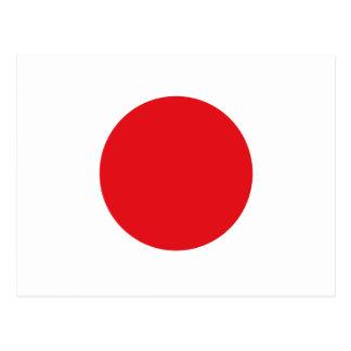 Cartão Postal Bandeira de Japão