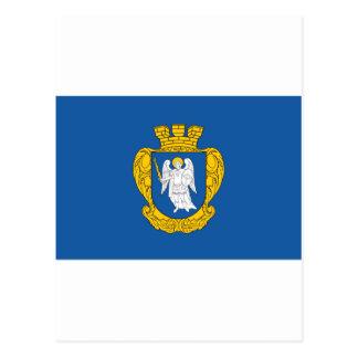 Cartão Postal Bandeira de Kiev