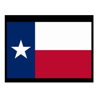 Cartão Postal Bandeira de Texas