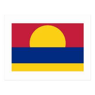 Cartão Postal Bandeira do atol de Palmyra