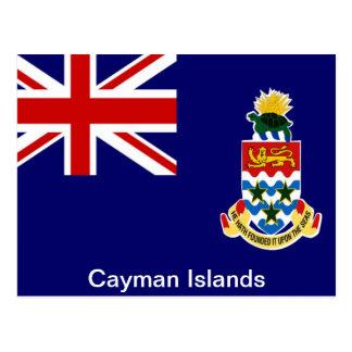 Cartão Postal Bandeira dos Cayman Islands