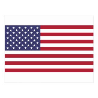 Cartão Postal Bandeira dos Estados Unidos