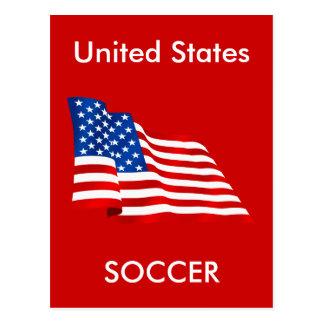 Cartão Postal Bandeira velha da glória dos E.U. dos Estados