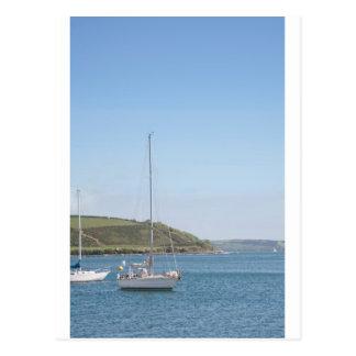 Cartão Postal Barco de vela