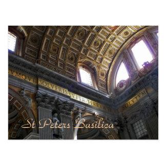 Cartão Postal Basílica de St Peters