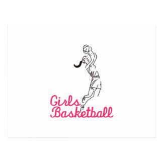 Cartão Postal Basquetebol das meninas