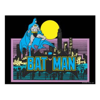Cartão Postal Batman & letras