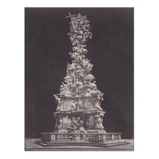 Cartão Postal Bei Wien de Baden, Lanner-Strauss-Denkmal