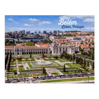 Cartão Postal Belém, Lisboa, Portugal