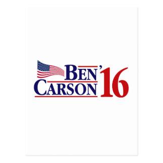 Cartão Postal Ben Carson para o presidente
