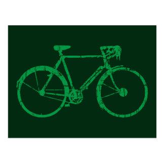 Cartão Postal bicicleta agradável. biking. bicicleta-temático